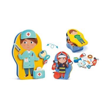 Djeco - Magnetyczne puzzle ZAWODY DJ03086