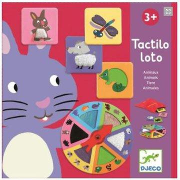 Djeco - Gra edukacyjna Lotto ruletka, zwierzaki DJ08129