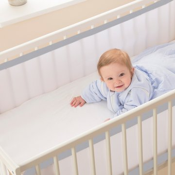 Oddychający ochraniacz do łóżeczka Pur Air PurFlo - Cloud Grey Purflo