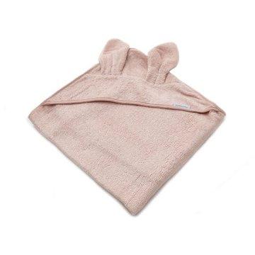 Bamboom - Ręcznik Bambusowy z Kapturkiem i Uszami, Różowy, 100x100, 0m+
