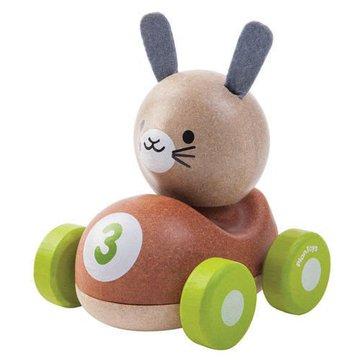 Drewniana wyścigówka królik, Plan Toys®