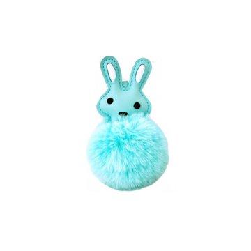 AdamToys - Zawieszka z pomponem królik