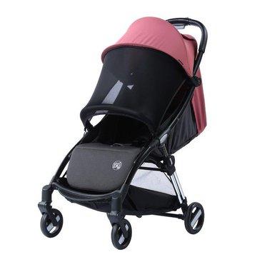 TitaniumBaby - Wózek spacerowy Beeyu Autofolding pink