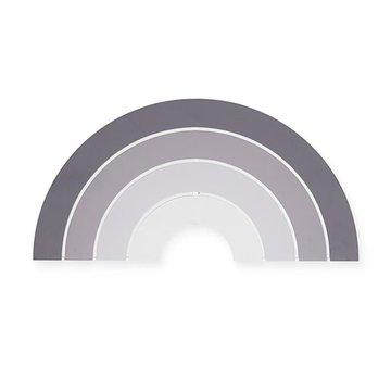Jollein - Baby & Kids - Jollein - Lampa ścienna Tęcza Rainbow Grey