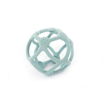 Bo Jungle - B-Silikonowa piłeczka gryzak pastel blue mint