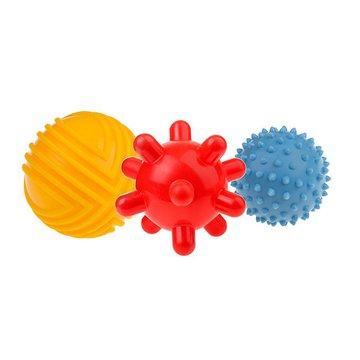 TULLO - Piłeczki sensoryczne 3szt