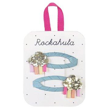 Rockahula Kids - spinki do włosów Rainbow Cloud Glitter
