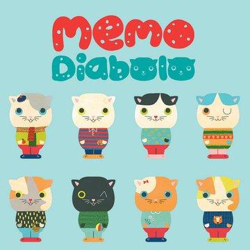 Djeco - Gra MEMO Diabolo Cat DJ08457