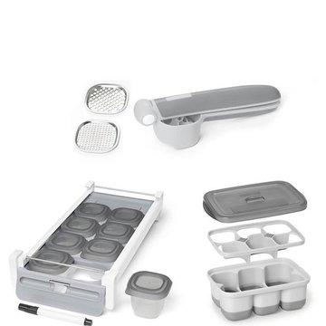 Skip Hop - Zestaw praska + pojemniki na żywność Pre p & Store