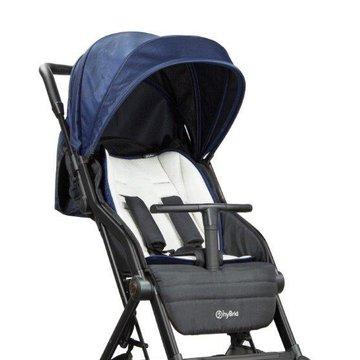 TitaniumBaby - Wózek dziecięcy  CABI S HyBrid Navy blue
