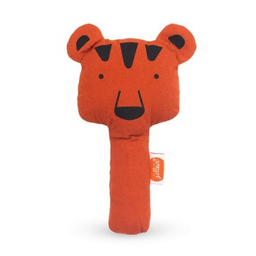 Jollein - Baby & Kids - Jollein - Grzechotka piszcząca Squeaker Animal Club Rust