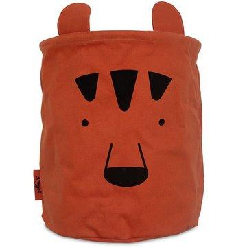 Jollein - Baby & Kids - Jollein - Pojemnik na zabawki Basket Animal Club Rust