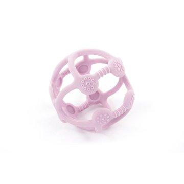 Bo Jungle - B-Silikonowa piłeczka gryzak pastel pink