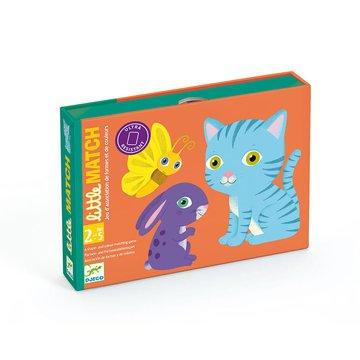 Djeco - Gra karciana dla maluchw Little Match DJ05061