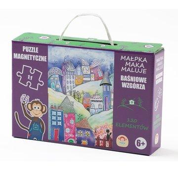 Maka Kids - Puzzle Magnetyczne Baśniowe Wzgórze