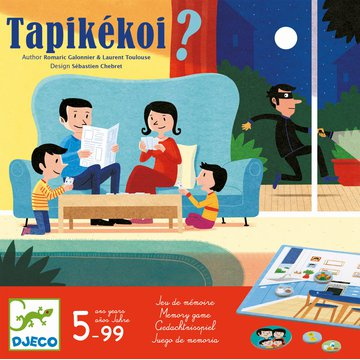 Djeco - Gra pamiciowa Tapikekoi DJ08542