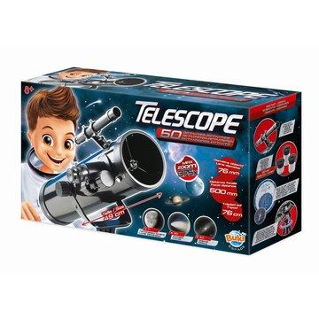 BUKI - Teleskop zwierciadlany - 50 dowiadcze  TS008B