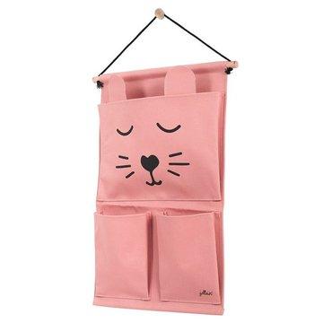Jollein - Baby & Kids - Jollein - Przybornik na łóżeczko Canvas Animal Club Rouge