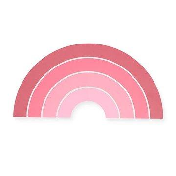 Jollein - Baby & Kids - Jollein - Lampa ścienna Tęcza Rainbow Blush Pink