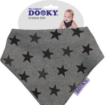 Chustka śliniak bandamka Dooky Grey Star