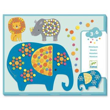 Djeco - Mozaiki dla maluchw DUNGLA DJ09097