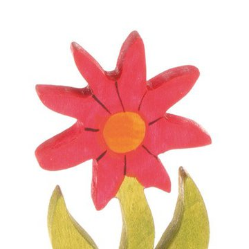 Drewniana figurka, Kwiat Aster, Grimm's