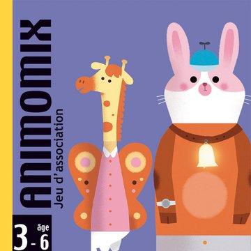 Djeco - Gra karciana dla maluchw Animomix DJ05146