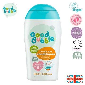 Good Bubble Organiczna odżywka wegańska do pielęgnacji włosów Noworodka i NiemowlakaCloudberry 100 ml GOOD BUBBLE