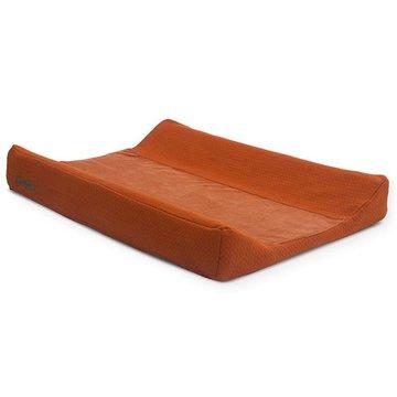Jollein - Baby & Kids - Jollein - Pokrowiec na przewijak Brick Velvet 50 x 70 cm Rust