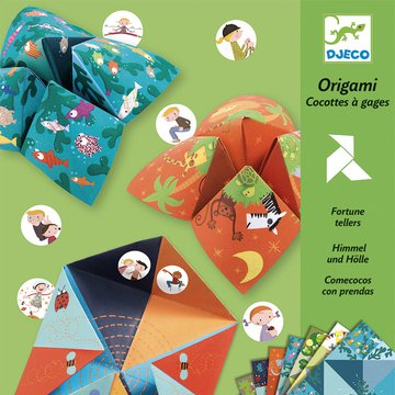 Djeco - Origami PRZEPOWIEDNIA - ZWIERZTA DJ08764
