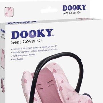 Pokrowiec do fotelika 0-13kg Dooky Pink Heart