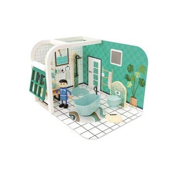 Joueco - Domek dla lalek ŁAZIENKA