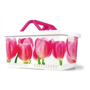 MYBASKET kosz rowerowy kolor Tulip