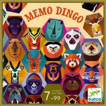 Djeco - Gra pamiciowa Memo Dingo DJ08538