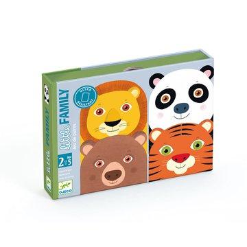 Djeco - Gra karciana dla maluchw Little Family DJ05062