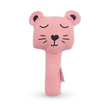 Jollein - Baby & Kids - Jollein - Grzechotka piszcząca Squeaker Animal Club Rouge