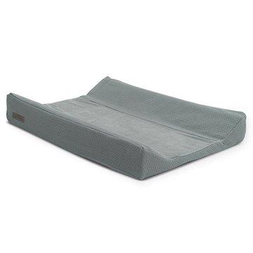Jollein - Baby & Kids - Jollein - Pokrowiec na przewijak Brick Velvet 50 x 70 cm Storm Grey