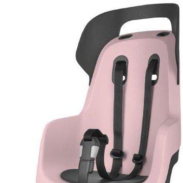 Fotelik row. Bobike GO na bagażnik Candy Pink