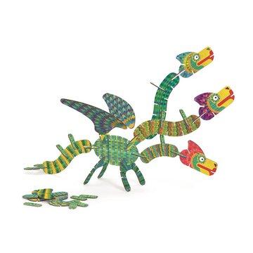 Djeco - Puzzle Volubo 3D SMOK DJ05632