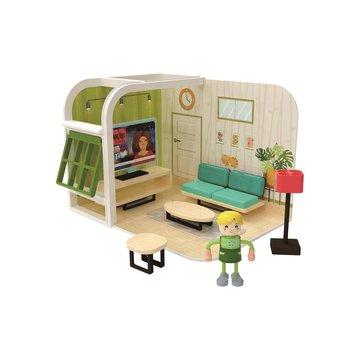 Joueco - Domek dla lalek SALON