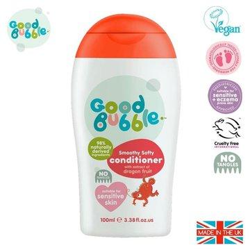 Good Bubble Organiczna odżywka wegańska do włosów Noworodka i Niemowlaka Dragon Fruit / Pitaya 100 ml GOOD BUBBLE