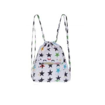 My Bag's Plecak worek XS My Star's white MY BAG'S