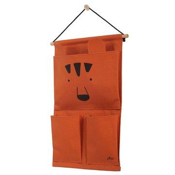 Jollein - Baby & Kids - Jollein - Przybornik na łóżeczko Canvas Animal Club Rust