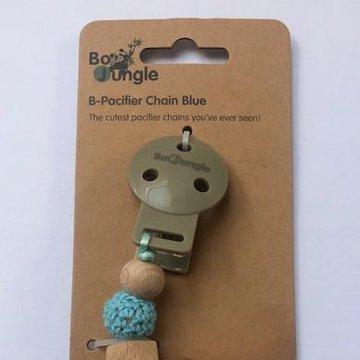 Bo Jungle - B-Zawieszka do smoczka  Blue