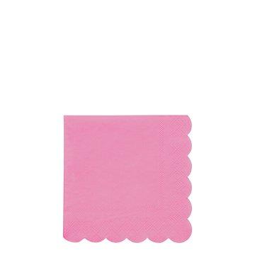 Meri Meri - Małe serwetki Simply Eco Różowe