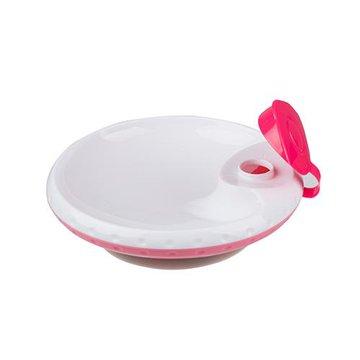 BABYONO - 1070/02 Miseczka dla dzieci i niemowląt z przyssawką utrzymująca temperaturę pokarmu