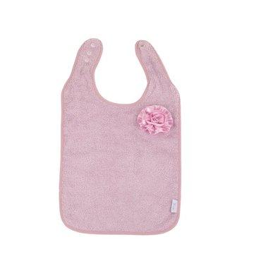 Bo Jungle - B-Śliniaczek Eco organic Flower pink