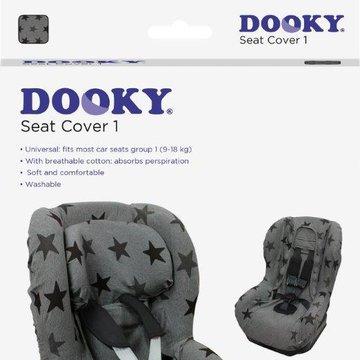 Pokrowiec do fotelika 9-18kg Dooky Grey Star