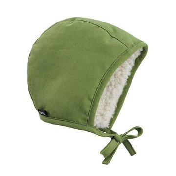 Elodie Details - Czapka Winter Bonnet - Popping Green 6-12 m-cy