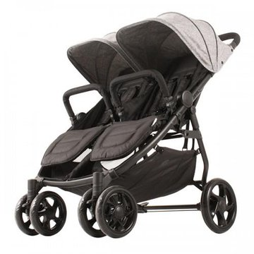 Kees - Wózek dla bliźniąt XINN Twin Kekk Grey